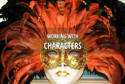 Working with characters and cast