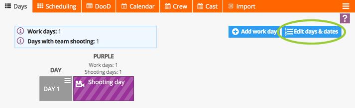 Adding days & dates