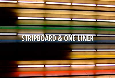Stripboard & one liner for mobile and print