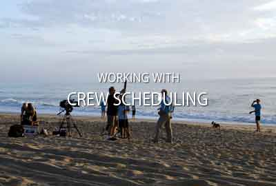 Working with crew scheduling