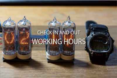 Working with time sheets & working hours