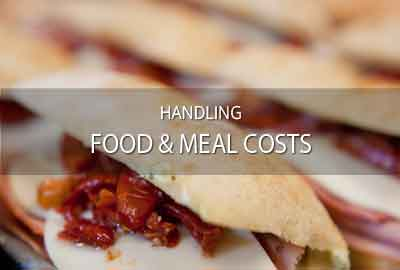Food list, food management & catering