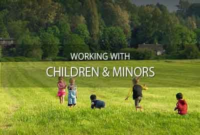 Working with children & minors